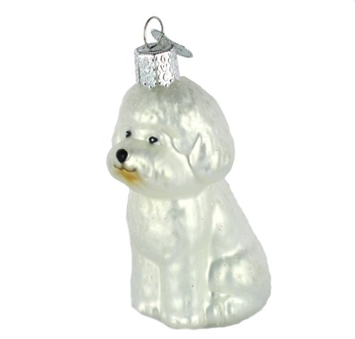 Old World Christmas Bichon Frise Ornament