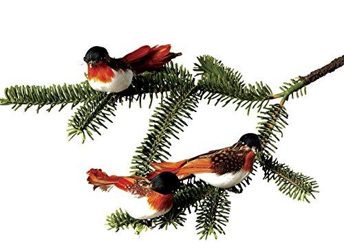 Sage & Co. XAO14331BR Pheasant Bird Clip-on Ornament
