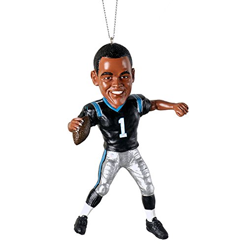 Cam Newton (Carolina Panthers) Forever Collectibles 4″ NFL Player Ornament