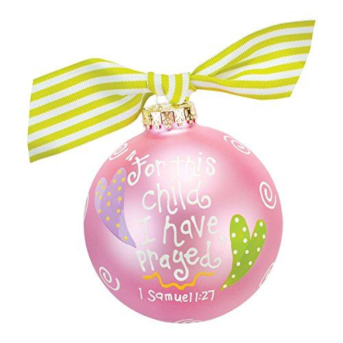 For This Child Ornament {Pink}