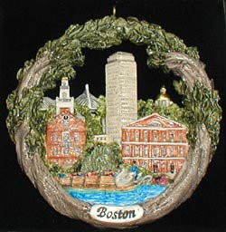 Boston AmeriScape Ornament