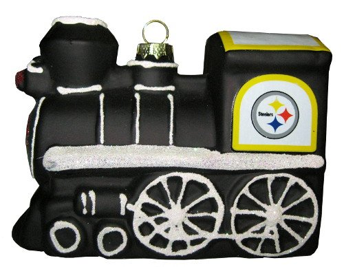 Pittsburgh Steelers Collectible Train Ornament
