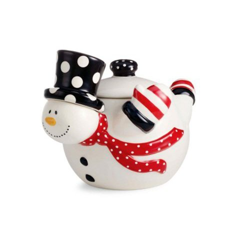 Mud Pie Gift SNOWMAN COOKIE JAR Tis The Season Collection New 122412 Christmas