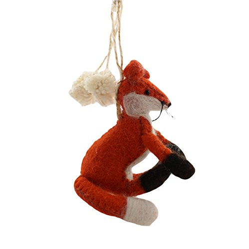Cody Foster Shadowy Fox Shaped Ornament