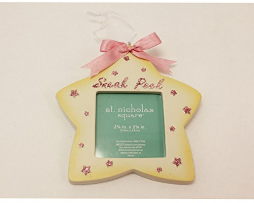 St Nicholas Square Star Sneak Peek Ornament – Girl