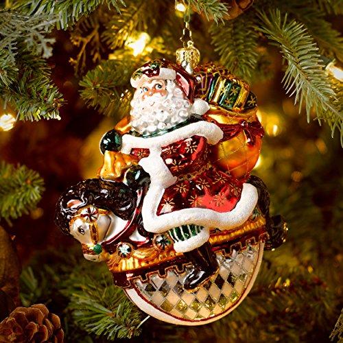 Christopher Radko Winter Rider Ornament