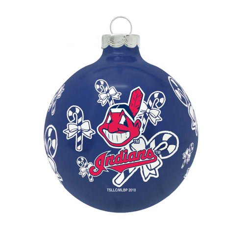 MLB Cleveland Indians Traditional 2 5/8″ Ornament