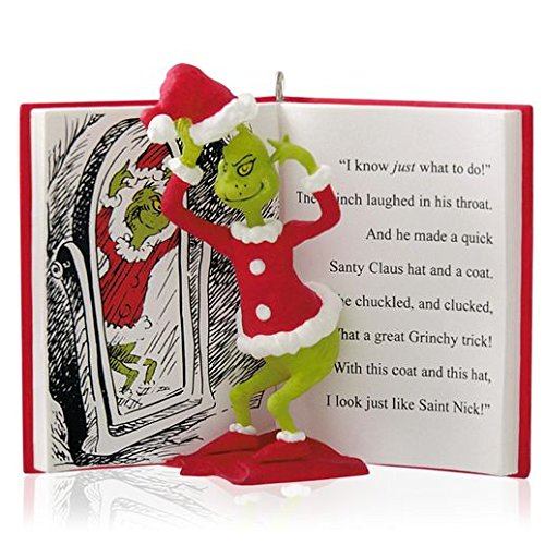 The Grinch In Disguise – Dr. Seuss's How The Grinch Stole Christmas! – 2014 Hallmark Keepsake Ornament
