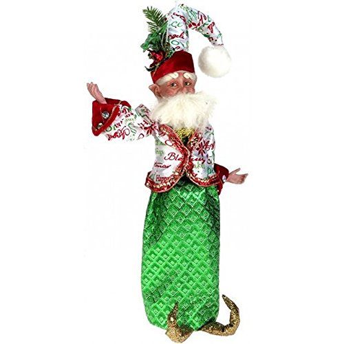 Mark Roberts Fairy Wine Bags 51-42104 Sprit of Christmas Fairy Winebag 16 inch