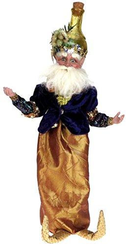 Mark Roberts Christmas Toast Fairy Winebag 15″