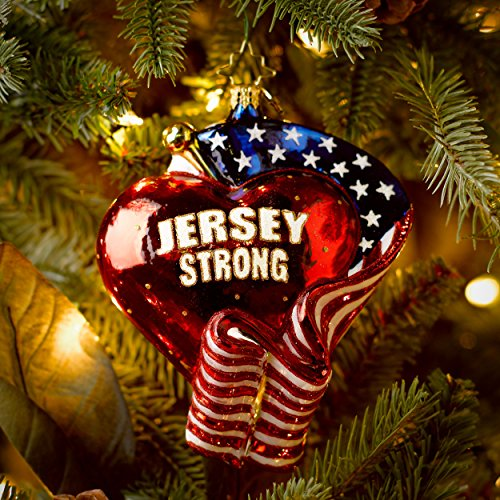 Christopher Radko Jersey Strong Glass Christmas Ornament 2014