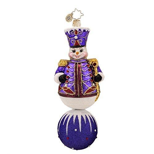 Christopher Radko Violet Marshal Glass Christmas Ornament – New for 2014