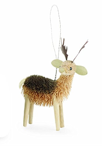 Mud Pie Bottle Brush Ornaments (Deer)