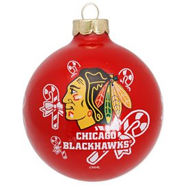 NHL Chicago Blackhawks Traditional 2 5/8″ Ornament
