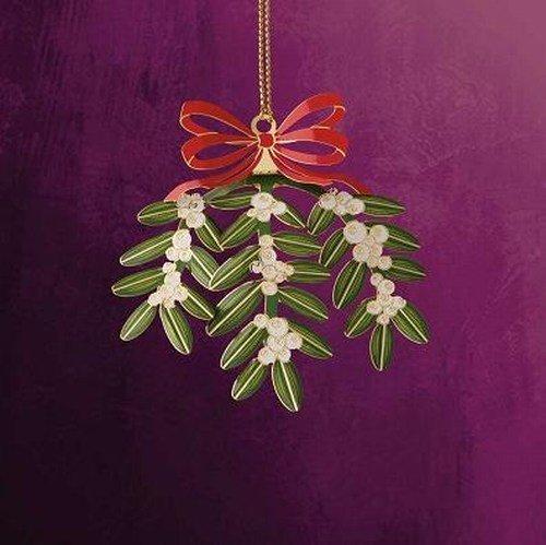 ChemArt Mistletoe Ornament
