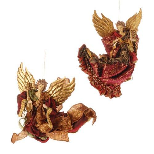RAZ Imports – ANGEL ORNAMENTS – (SET OF 2)