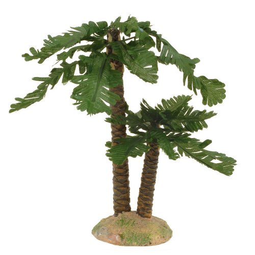 Fontanini Double Trunk Tree for 3.5″ * Nativity Village Collectible 55036