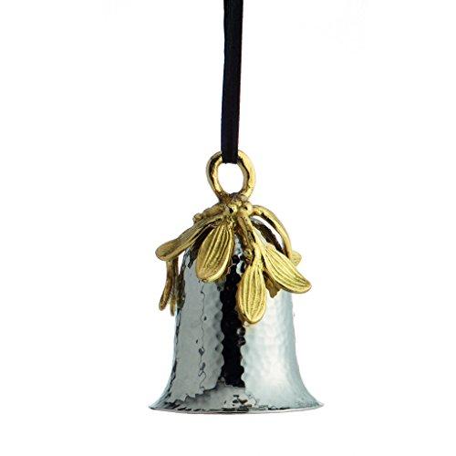 Michael Aram Mistletoe Bell Ornament