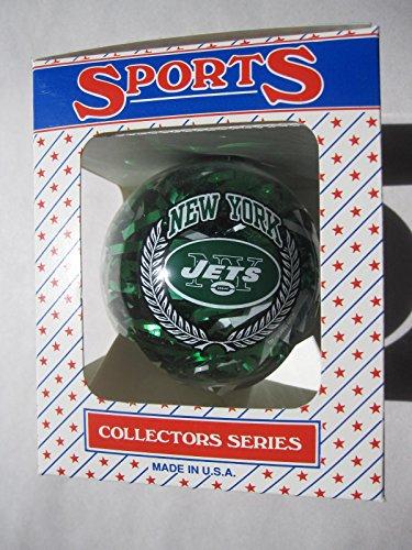 3.25″ New York Jets Confetti Ornament Ball