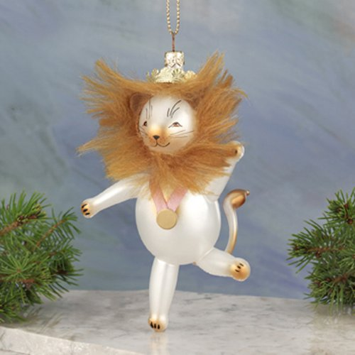De Carlini Lion From Wizard of Oz Chistmas Ornament