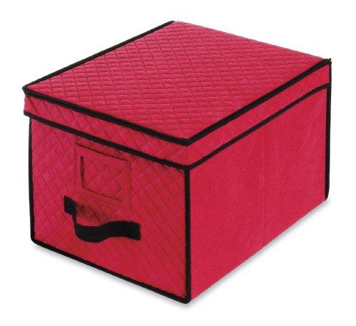 Whitmor 6129-2688 Christmas Ornament Storage Box