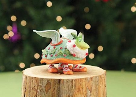 Patience Brewster Mini 12 Days Two Turtle Doves Ornament