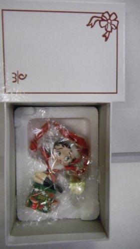 """Betty Boop Ornament the 2011 Annual """"Holiday Surprise"""" Danbury Mint"""
