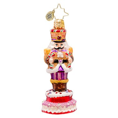 Christopher Radko Sweet Marcher Gem Ornament 2014