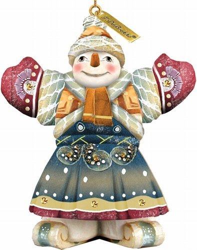 G.DeBrekht Snowman Ornament