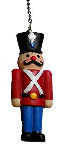 Resin christmas NUTCRACKER ballet Ceiling Fan Pull light chain decoration ornament (Toy Soldier)