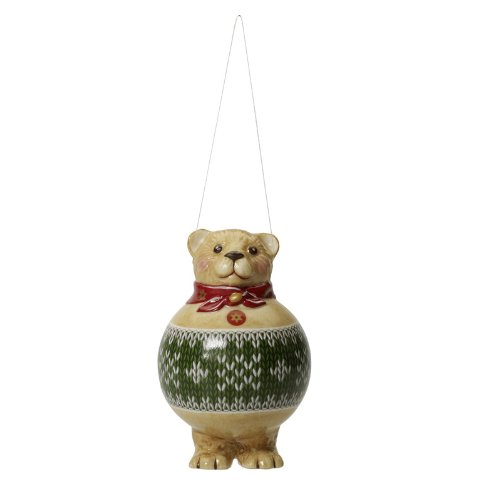 VILLEROY & BOCH Toy's Ornaments Ball Teddy Bear