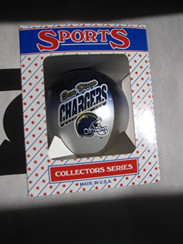 3.25″ San Diego Chargers Two Toned Ornament Ball