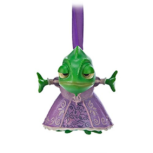 Disney Sketchbook Tangled Ornament, Pascal Ornament, Disney Pascal Ornament