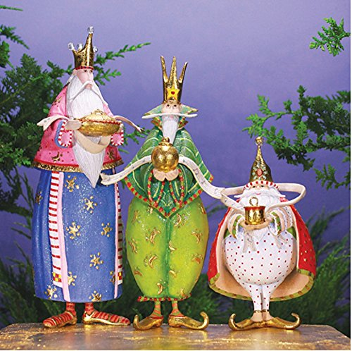 Patience Brewster World Edition Magi Figure Set of 3 08-30969