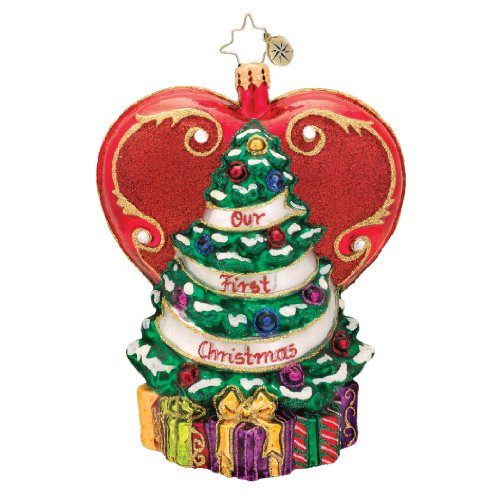 Christopher Radko A Tree From the Heart Christmas Ornament