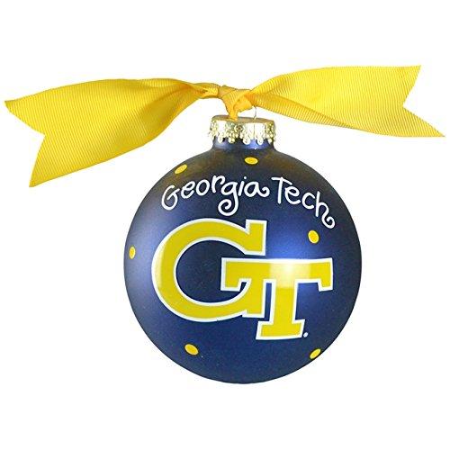 Georgia Tech Logo Ornament