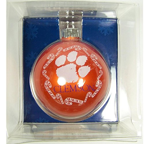 NCAA Clemson Tigers Traditional 2 5/8″ Ornament