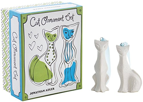 Jonathan Adler Cat Ornament Set