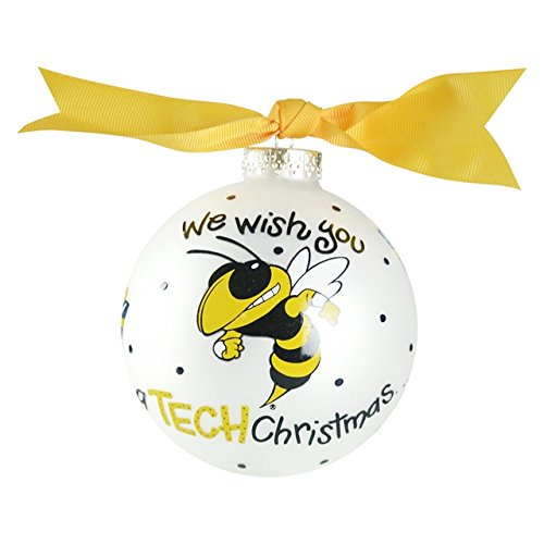 Georgia Tech We Wish You Ornament