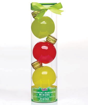Holiday Margarita Cocktail Mix Ornament Set