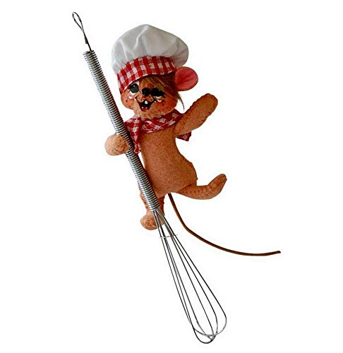 2014 Annalee Dolls 3″ Chef Mouse on a Wisk Ready to Cook for Christmas