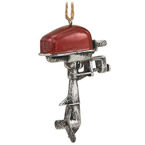 Outboard Boat Motor Engine Ornament for Christmas Tree