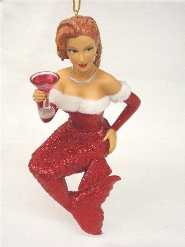 December Diamonds Bell Mermaid Ornament
