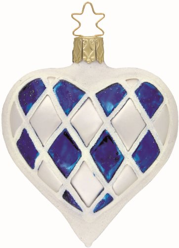 Bavarian Heart, #1-047-08, by Inge-Glas of Germany