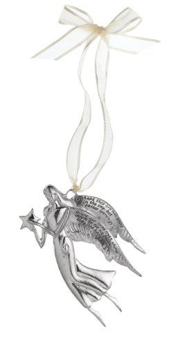 "Serenity ""Loved Ones"" Angel Ornament, Pewter"
