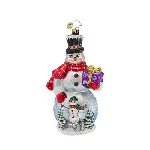 Christopher Radko Winter Wonderland Man Ornament