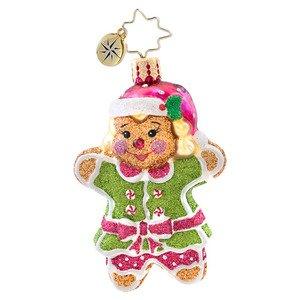 Christopher Radko Ginger Jill Gem Ornament