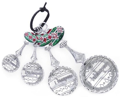 Ganz Ornament Measuring Spoon Set of 4