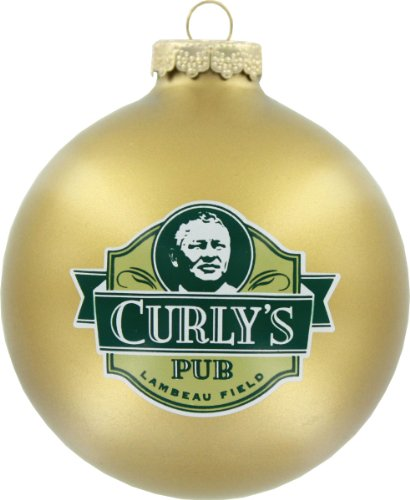 Green Bay Packers Round Ornament – Curly's Pub