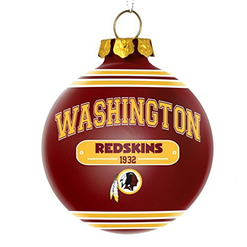 Washington Redskins Official NFL 2014 Year Plaque Ball Ornament